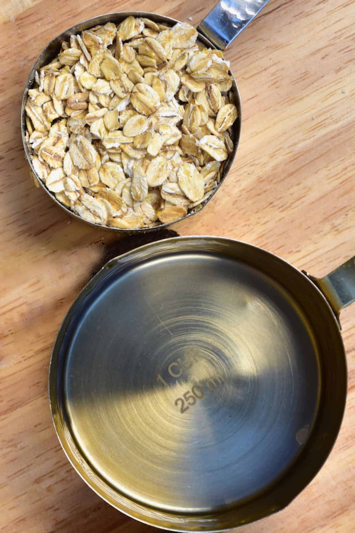 Oats and water
