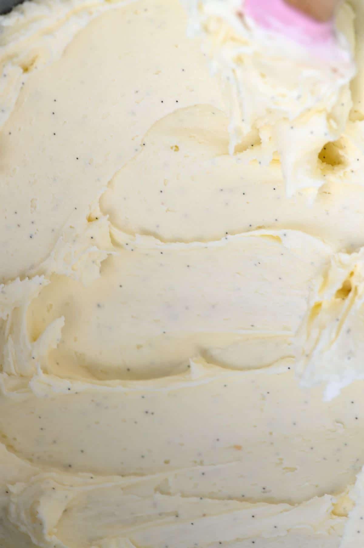 Homemade vanilla buttercream