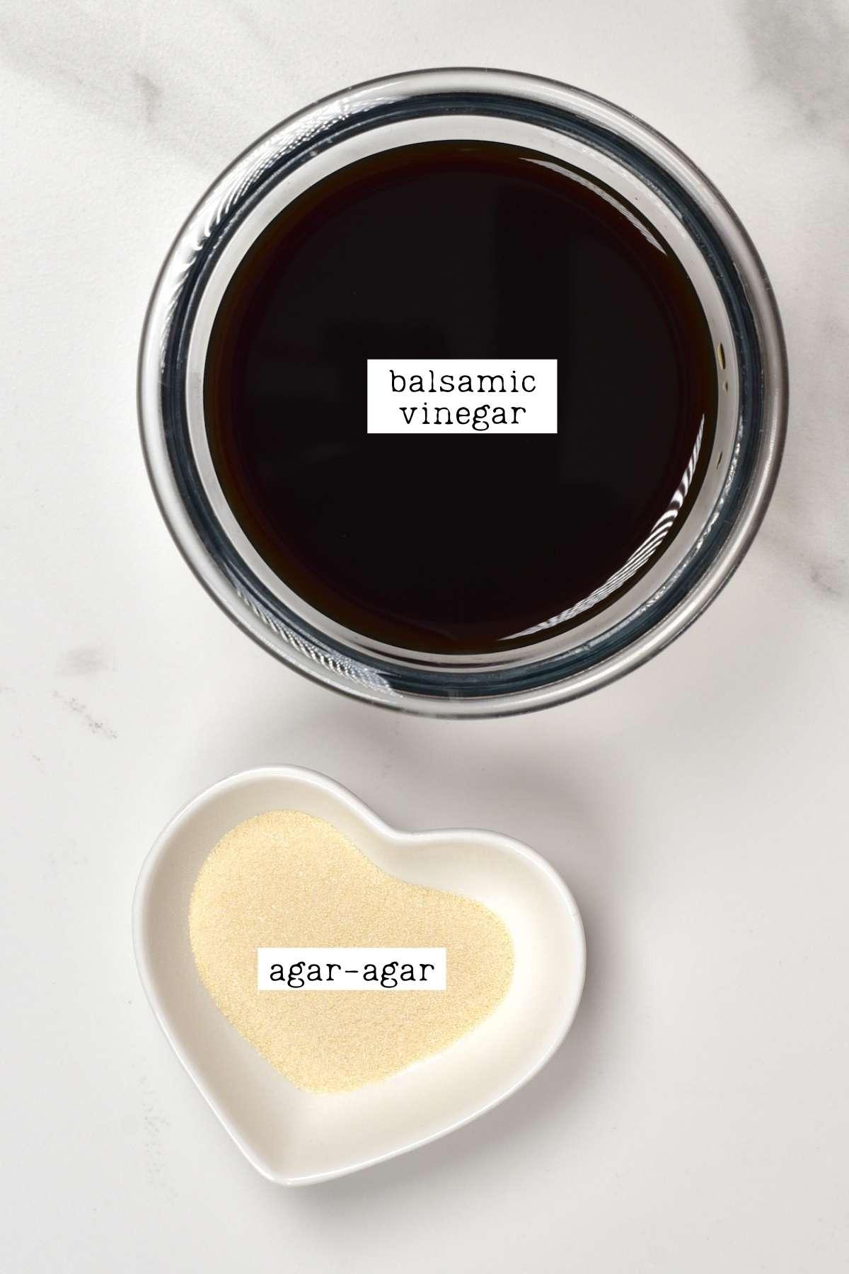 Vinegar caviar ingredients