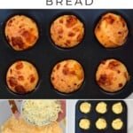 Steps for making Brazilian cheese balls