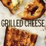 Slices of Cheese toastie