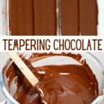 Steps to temper chocolate