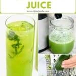 Steps to make cucumber juice
