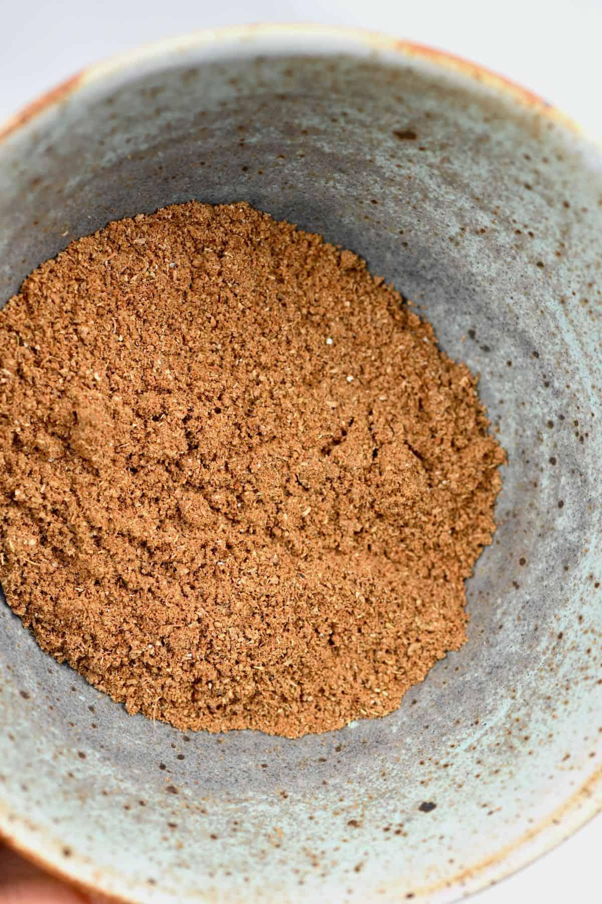 Garam Masala spice mix in a bowl