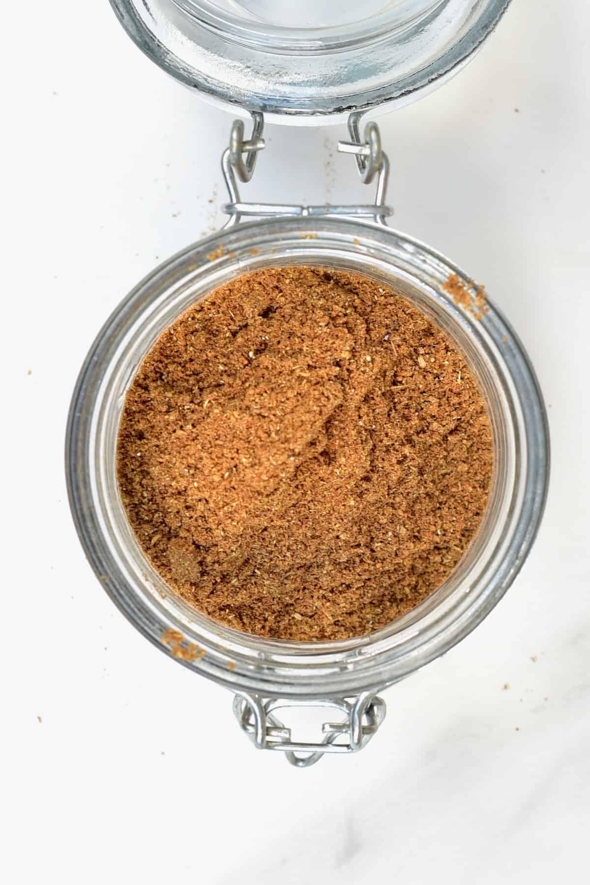 Garam Masala in a jar