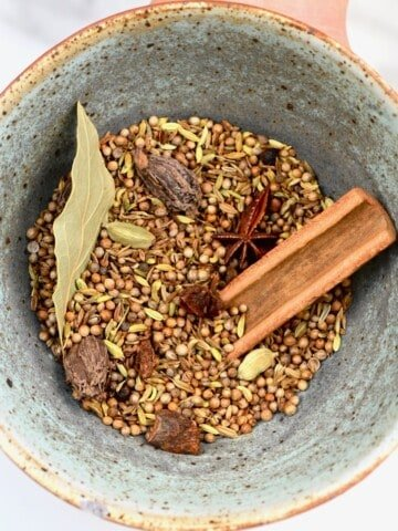 Garam Masala Spices in a bowl