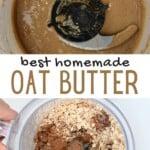 Steps for making granola butter