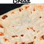 Freshly made Greek pita bread