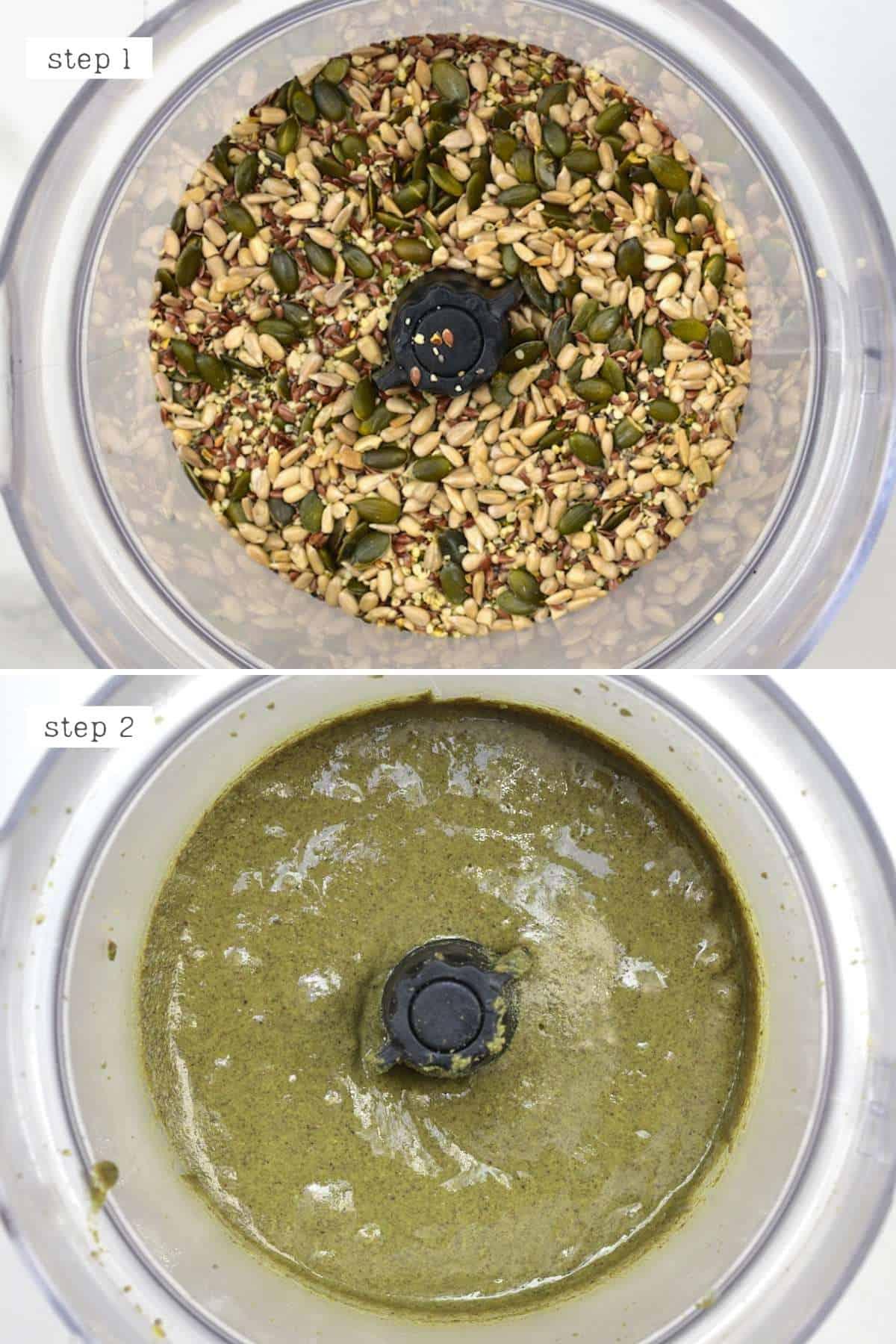 Steps for blending omega butter