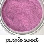 A jar with purple sweet potato powder