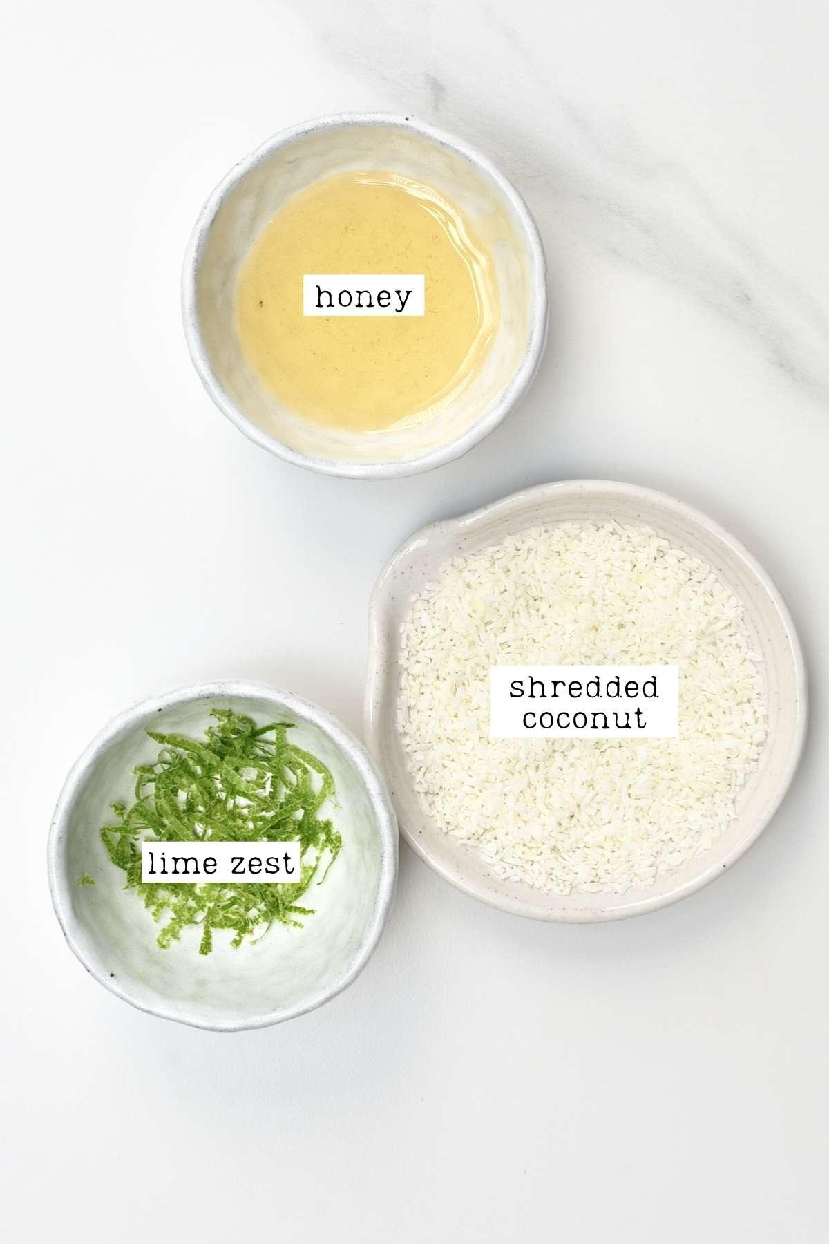 Toppings for cucumber lemonade