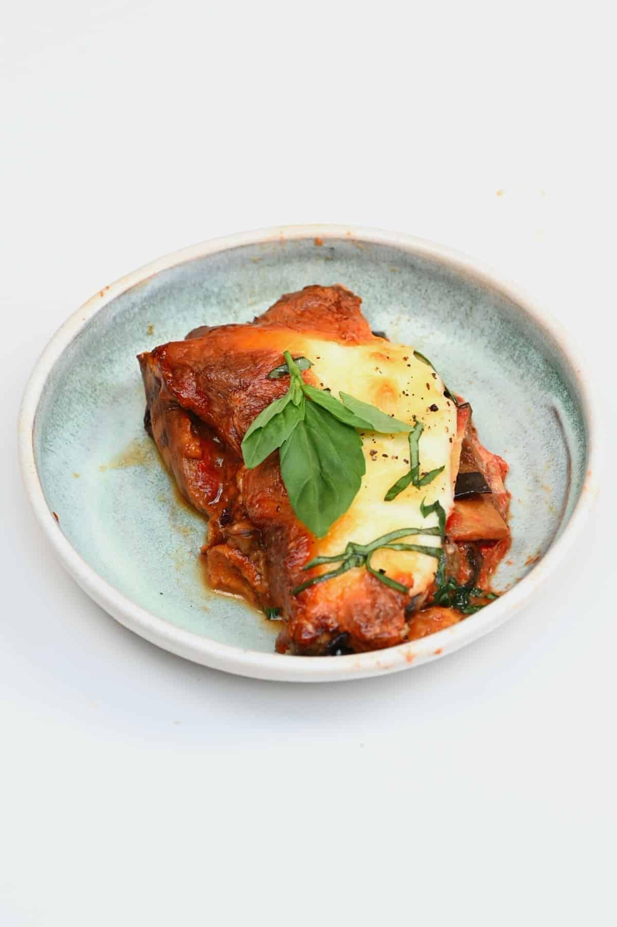 A slice of parmigiana