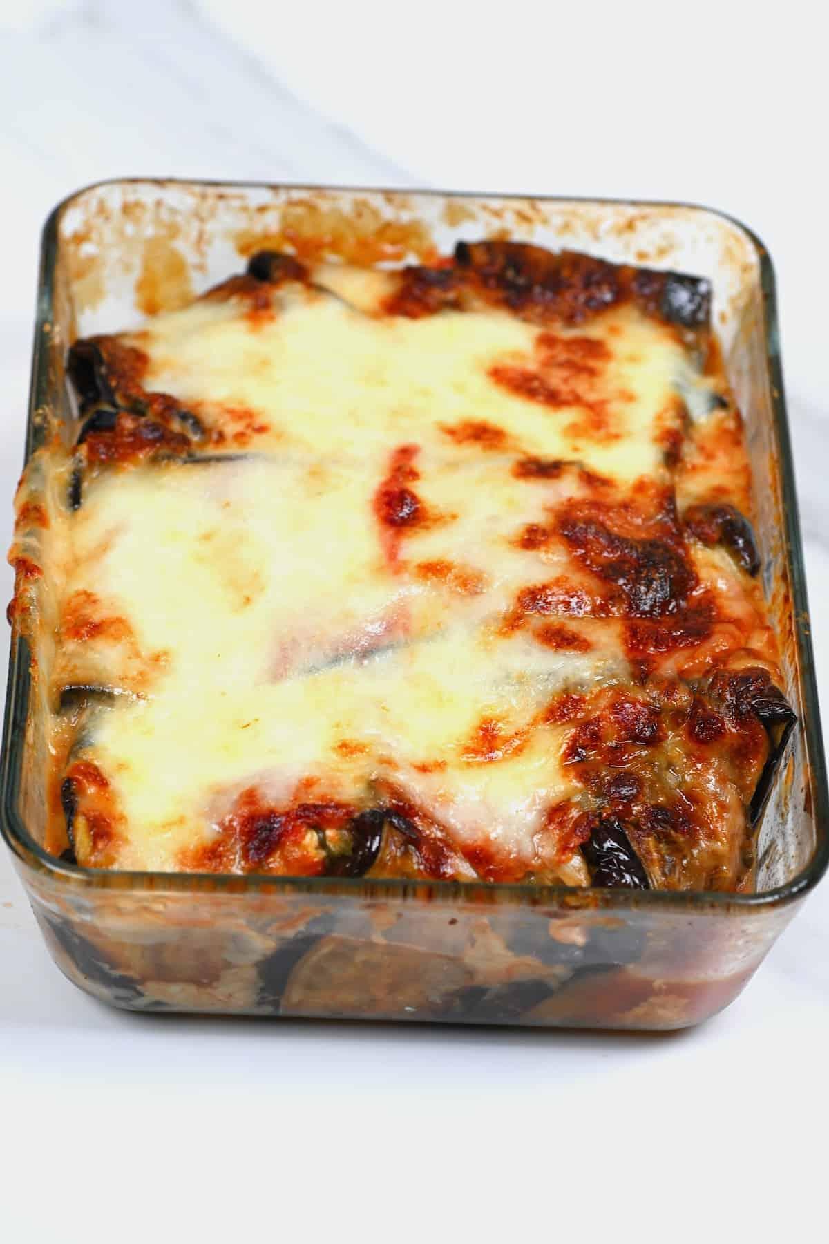 Baked parmigiana