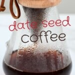 Dripping date seed coffee