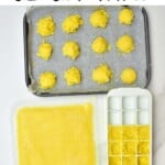 Ways to freeze ginger paste