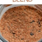 Mexican spice blend in a jar