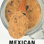 A spoonful of Mexican seasoning