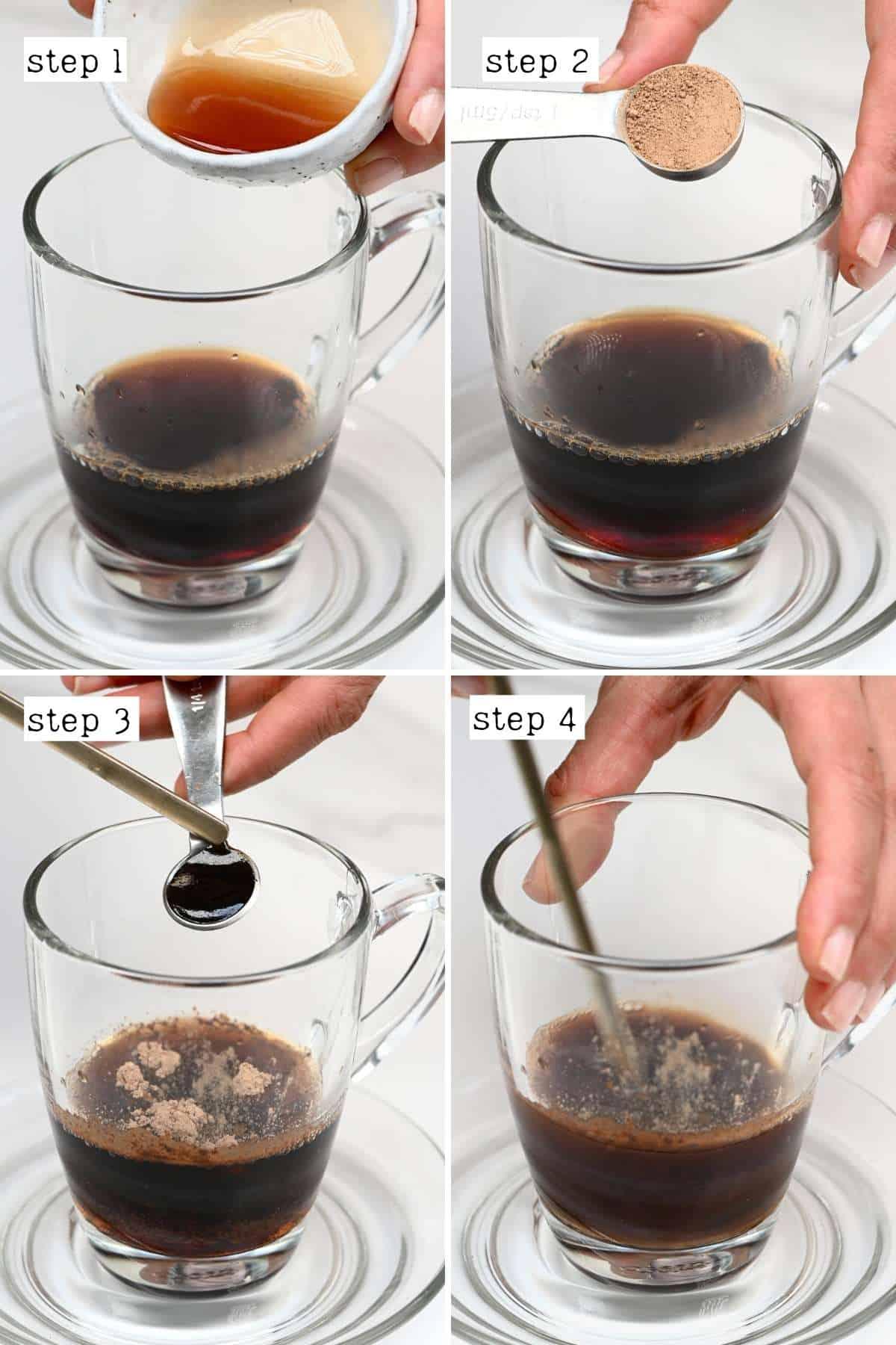 Steps for making mushroom coffee