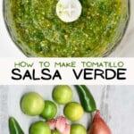 Ingredients for Salsa Verde