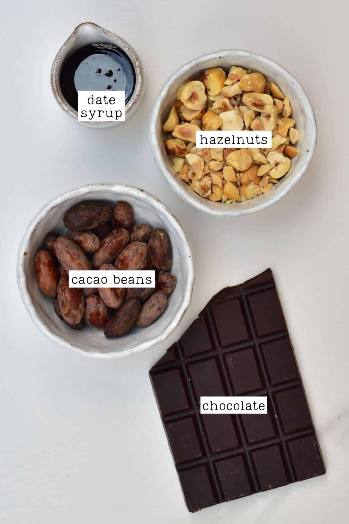 Optional toppings for coffee ice cream