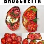 Steps to make Tomato bruschetta
