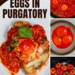Steps to make eggs in purgatory