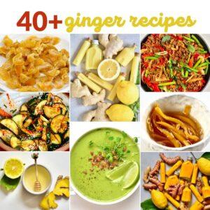Ginger recipes compilation
