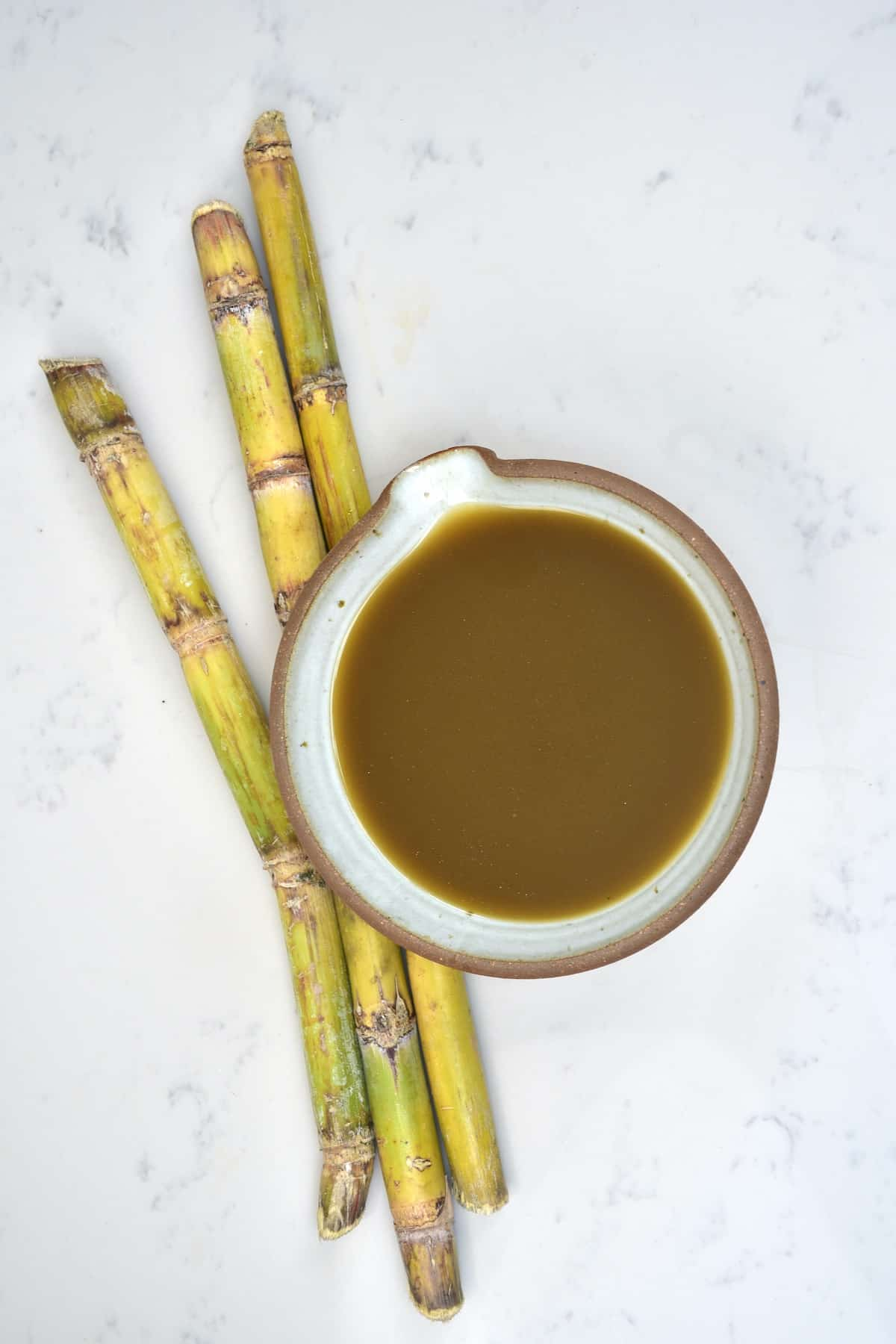 Sugar canes and cane juice