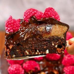 A slice of mars cake