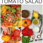 Steps to make simple marinated tomato salad