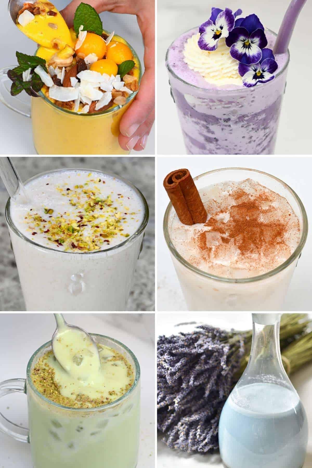 Creamy Drinks