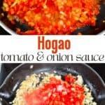 Steps to make hogao