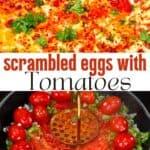 Menemen Turkish scrambled eggs