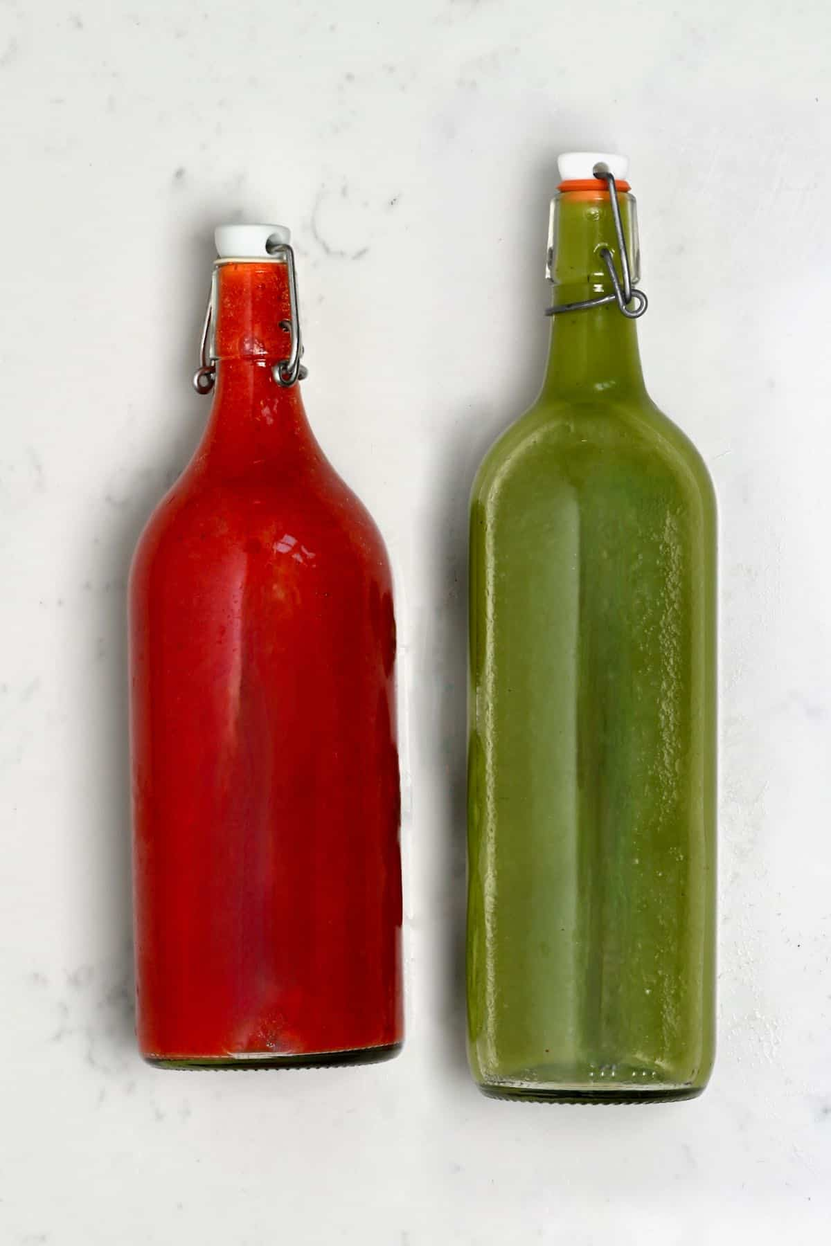 Strawberry and kiwi juice