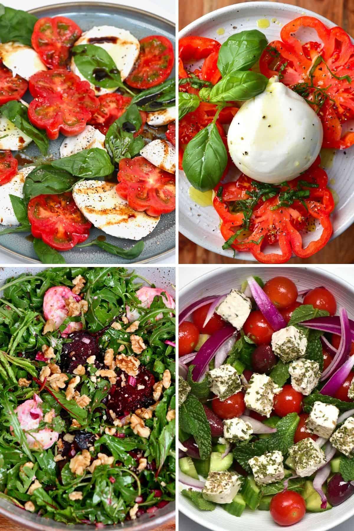 Cheesy Summer Salads