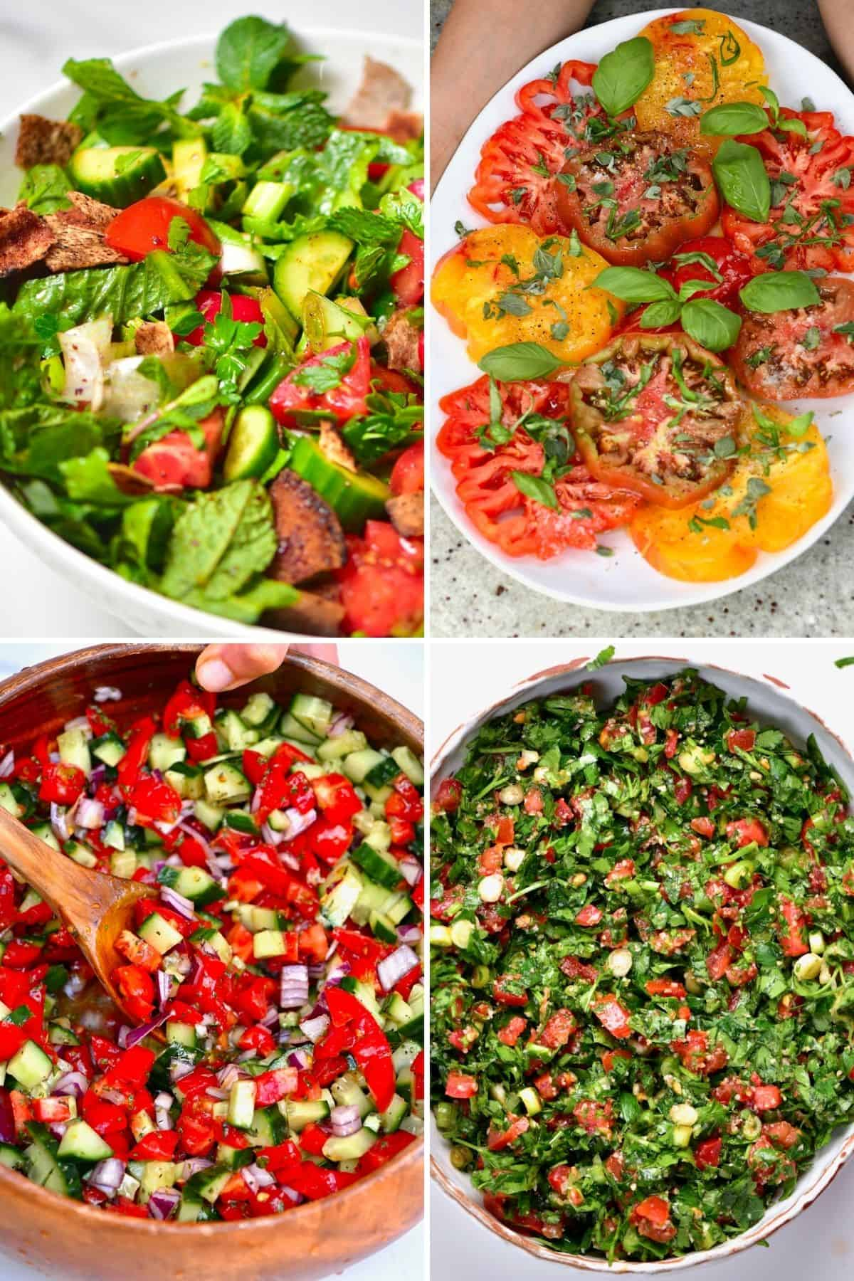 Easy Summer Salad Recipes Compilation