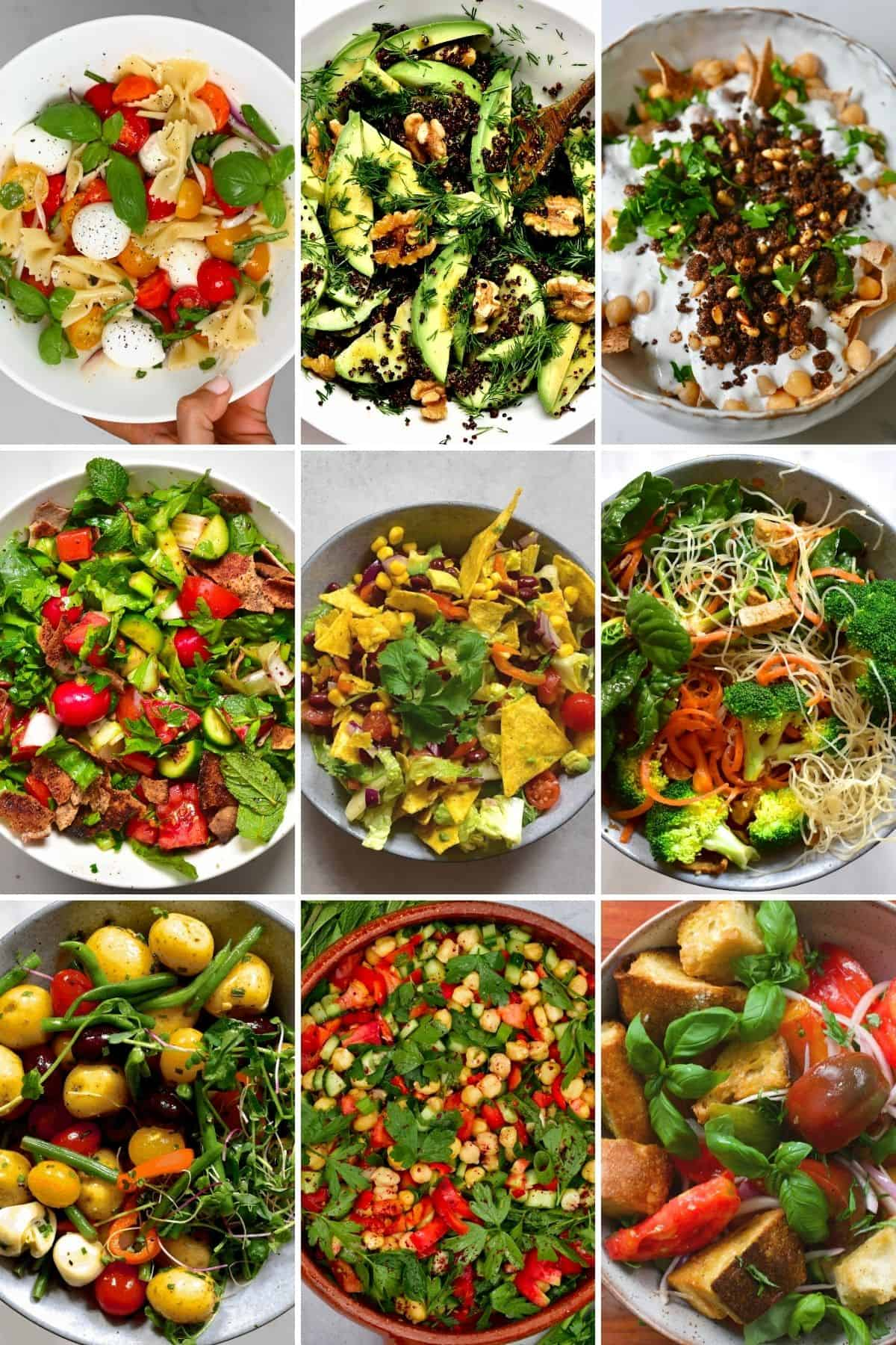 Hearty Summer Salad Recipes