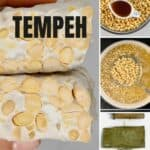 Steps to making tempeh at home