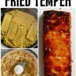 Steps to make Indonesian fried tempeh