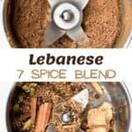 Steps to make Lebanese 7 spice blend