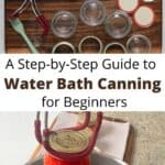 Tools for water bath canning