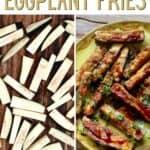 Steps to make eggplant fries