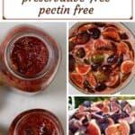 Steps to make homemade fig jar