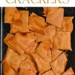 Gluten-Free Red Lentil Crackers (Lentil Chips)