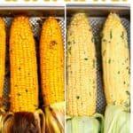 Oven-roasted corn