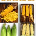 Steps to making oven-roasted corn