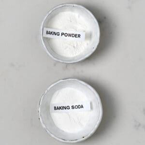 Baking powder and baking soda