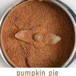 Homemade Pumpkin Spice Mix