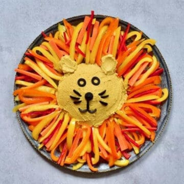Pumpkin spiced hummus
